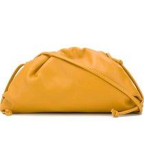 bottega veneta the pouch bag - yellow