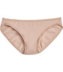 calzon bikini algodón beige gap