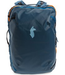 men's cotopaxi allpa 35l travel backpack - blue