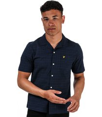 mens seersucker short sleeve shirt