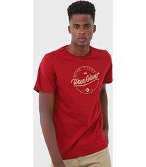 camiseta wg high tides vermelha - kanui