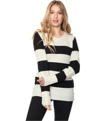 sweater negro/blanco nano