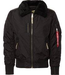 alpha industries black injector iii jacket 143104