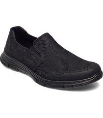 b4862-14 loafers låga skor svart rieker