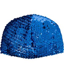 gucci sequin-embellished hat - blue