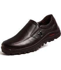scarpe casual in cuoio