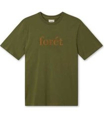 foret forét resint-shirt f363 dark olive