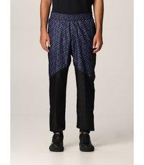 versace pants la greca versace nylon jogging pants