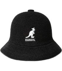 kangol men's big logo casual bucket hat