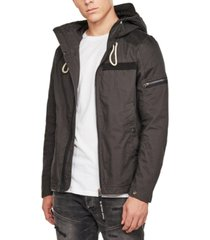 g-star raw men's hooded jacket, created for macy's