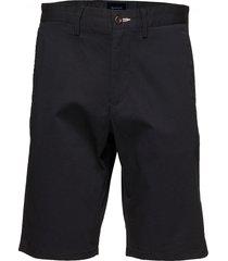 d1. relaxed twill shorts shorts chinos shorts svart gant