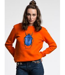 bluza the beetle orange