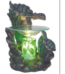 turtles oil/tart warmer - use with scentsy and yankee candle wax