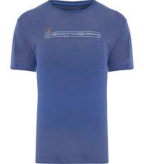 t-shirt masculina over color - azul