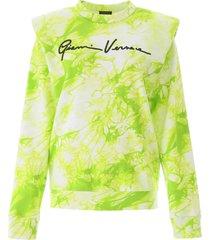 versace tie-dye sweatshirt