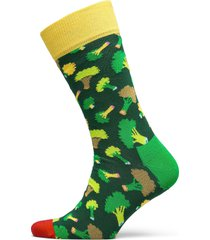 broccoli sock underwear socks regular socks grön happy socks