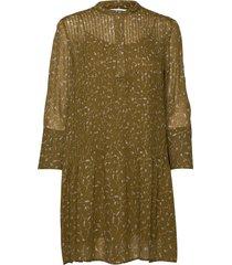 elm short dress aop 9695 korte jurk beige samsøe samsøe