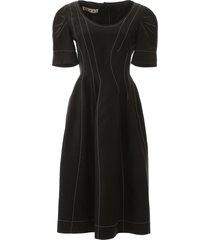 marni dress with stitching
