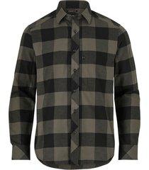 flanellskjorta stalt straight shirt l/s