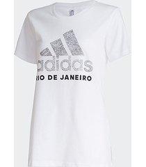 camiseta adidas cidade rio de janeiro feminina