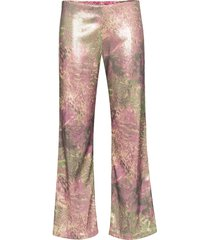 collina strada mariposa sequinned trousers - pink