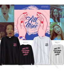 kpop fx all mine sweater f(x) luna amber krystal unisex new hoodie long sleeve