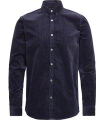 felix corduroy shirt overhemd casual blauw les deux