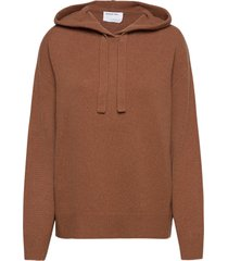 silvia hoodie stickad tröja brun designers, remix
