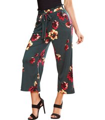 envío gratis pantalon angie multicolor  para mujer croydon