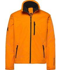 crew midlayer jacket outerwear sport jackets light jackets orange helly hansen