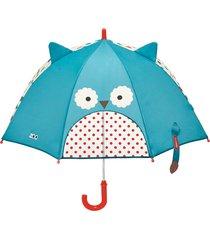 guarda chuva coruja skip hop azul