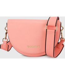 bolso coral-azul oscuro tommy jeans