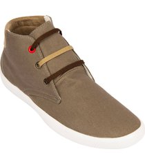 zapato botín street line prime-gris cobre