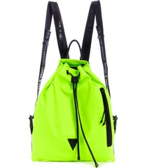 mochila kody drawstring backpack verde guess