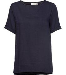 blake top zl t-shirts & tops short-sleeved blauw inwear