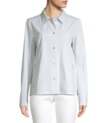 jaren pima cotton stretch jacket