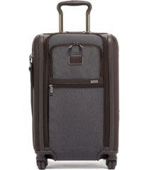 tumi alpha 3 international expandable 2 wheeled carry-on spinner suitcase