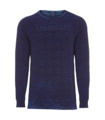 camiseta masculina los angeles stars - azul