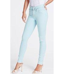 jeansy z paskiem fason skinny