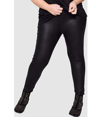 imitatieleren legging angel of style zwart