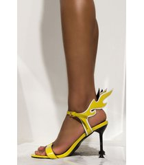 akira cape robbin my shoes stay lit stiletto heeled sandal