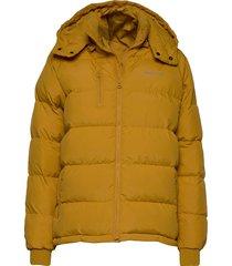 puffer jacket boden mustard gevoerd jack geel dedicated