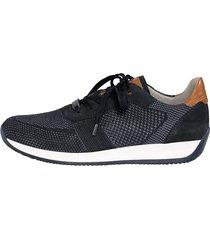 skor ara marinblå::konjak