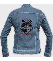 kurtka jeansowa lonewolf