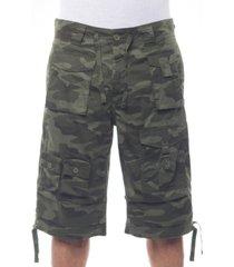 "sean john men's big & tall 15"" classic flight cargo shorts"