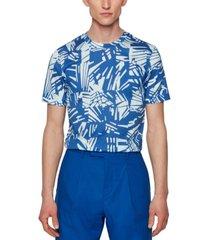 boss men's slim-fit cotton t-shirt