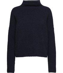 mika yak funnelneck sweater turtleneck coltrui blauw filippa k