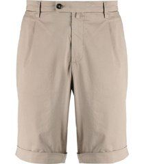 briglia 1949 straight-leg chino shorts - neutrals