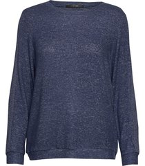 cozy shirt ls top blå missya