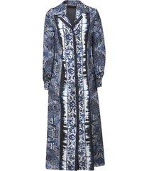 alberta ferretti buttoned long dress